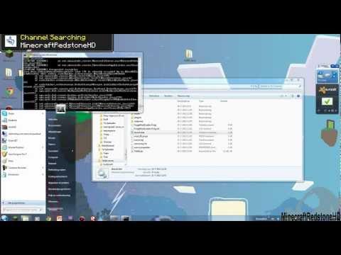 Minecraft how to make a tekkit server 1.2.5 (Dutch)