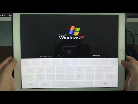 How to install windows XP on Ipad Pro 12.9 inch | No Jailbreak