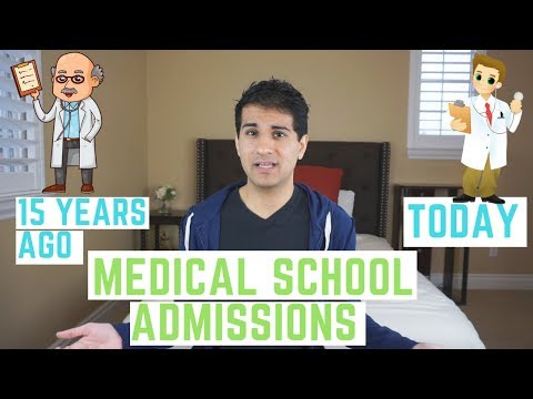 Is Getting Into Medical School Today Harder Than Ever?