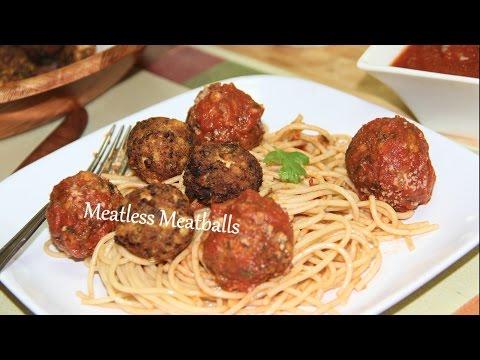 Meatless Meatballs Video Recipe by Bhavna | Tofu Mushrooms Balls Recipe