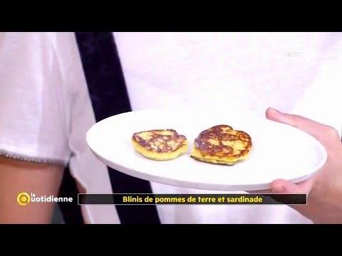 Coup d'food : blinis de pommes de terre et sardinade