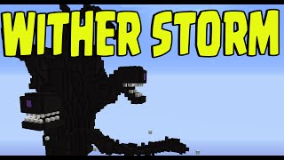 minecraft one command block wither storm