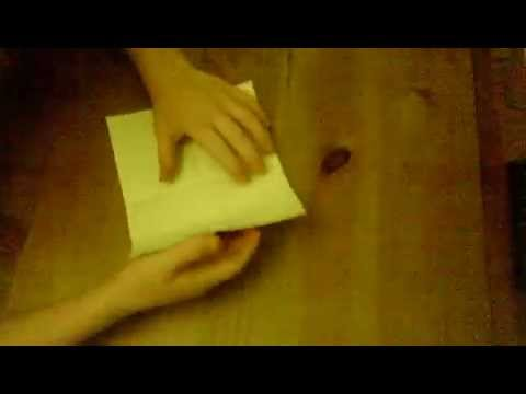 How to make a book lit out of one piece of paper