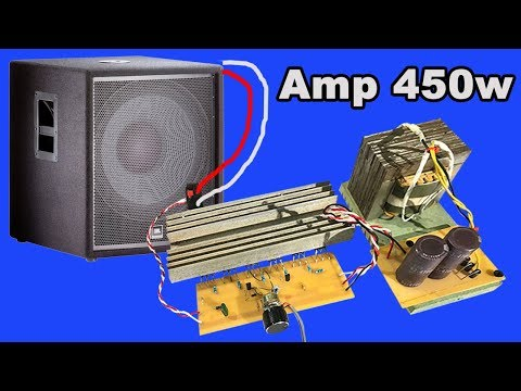 How to make Audio Amplifier circuit board 450w by yourseft at home #2