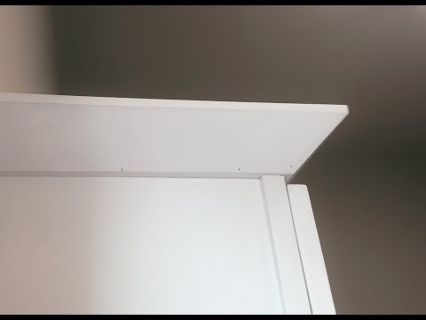 Installing Shaker Crown (Notching Cabinets)