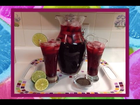 Recipe: How To Make Hibiscus Tea (Agua De Jamaica)!