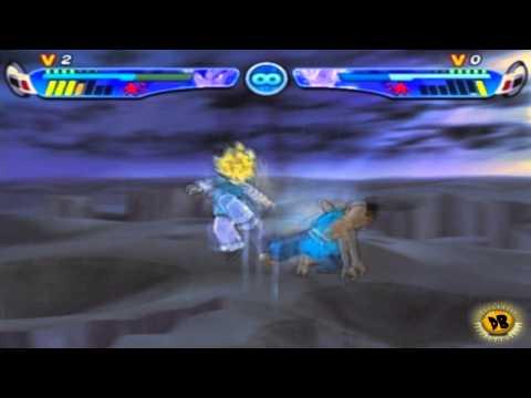 Dragon Ball Z Budokai 3: Uub vs Goten - The Rematch