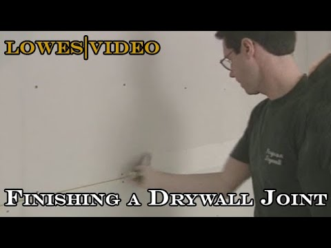 How to Finish Drywall seams in thin, even coats