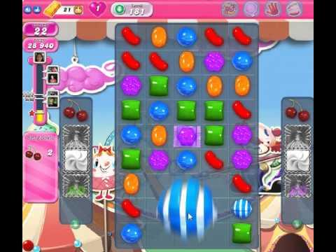 candy crush saga level 181 - no booster