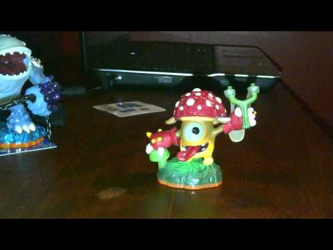 skylander giants lightccore shroom boom unboxing !