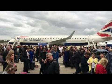 Reports of chemical incident at London City Airport