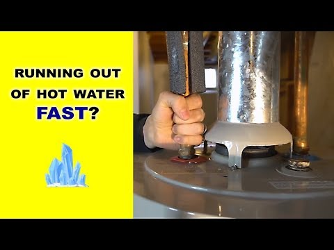 Why Your Water Heater Runs Out of Hot Water Fast