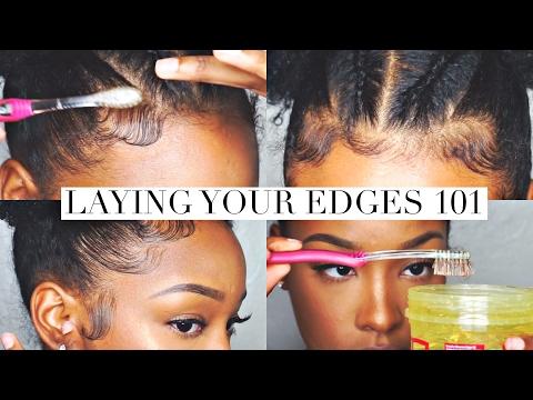 Laying Your Edges 101 | FabulousBre