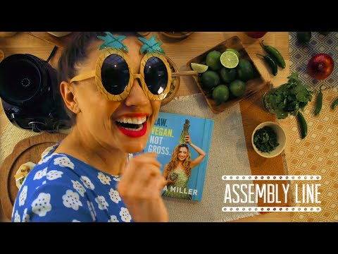 Raw Vegan Jicama Tacos with LAURA MILLER! | Assembly Line