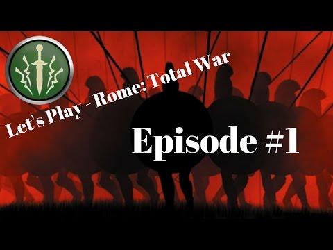 BEGINNING MOVES - Brutii Episode 1 - Let's Play Rome: Total War