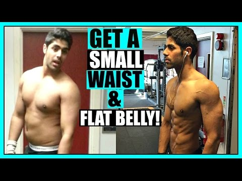 How To Get A SMALLER Waist & Flat Stomach FAST ( FOR MEN & WOMEN )