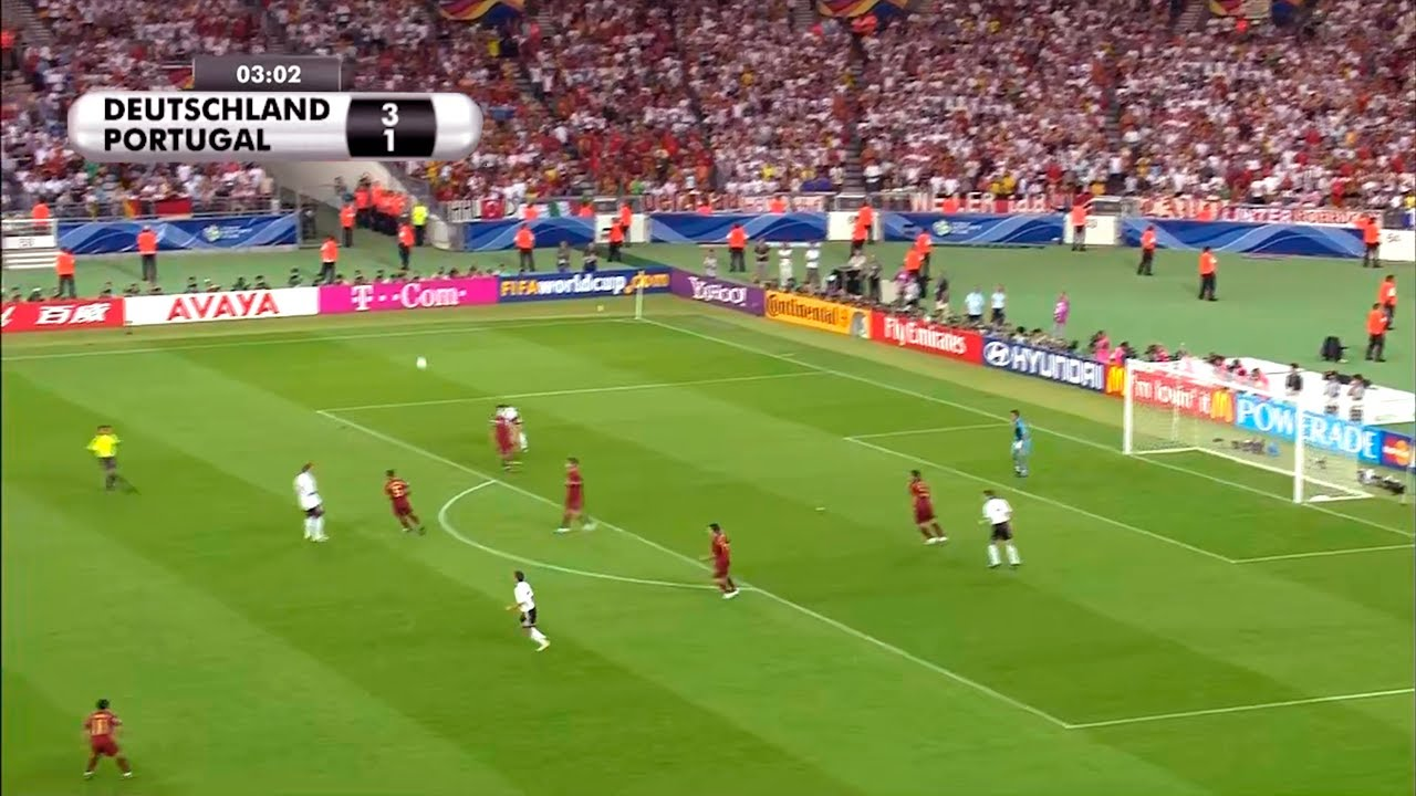 Germany vs Portugal 3-1 | 2006 FIFA World Cup Germany