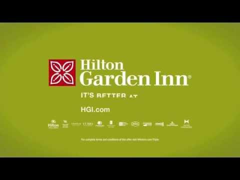 Holiday Commercial - Hilton Garden Inn -  Earn Triple Honor Points - It's Better At The Garden