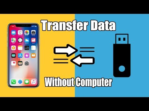 HOW TO TRANSFER FILES FROM USB TO IPHONE/IPAD | Without Computer | Tech Zaada