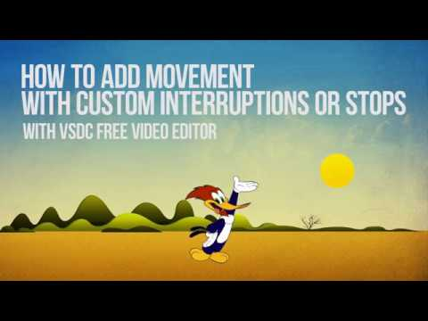 Lifehack: add motion with stops and interruptions