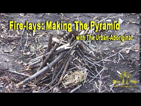The Urban-Abo Quest for Fire: #2a) Pyramid Fire Structure