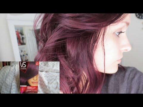 Dying my hair purple!   Vidal Sassoon London Lilac   Alyssa Nicole