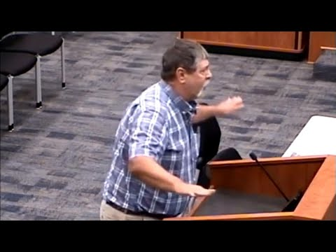 Man Confronts Superintendent, Claiming He Was Bullied as a Student