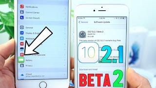 iOS 10.2.1 Beta 2 What
