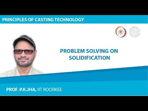 Problem Solving on Solidification