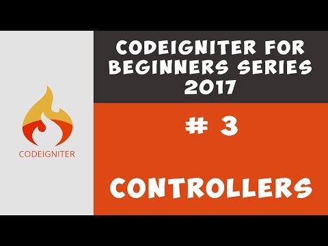 How to create new Controller in Codeigniter 3 , Passing Variables ( Tutorial 3 )