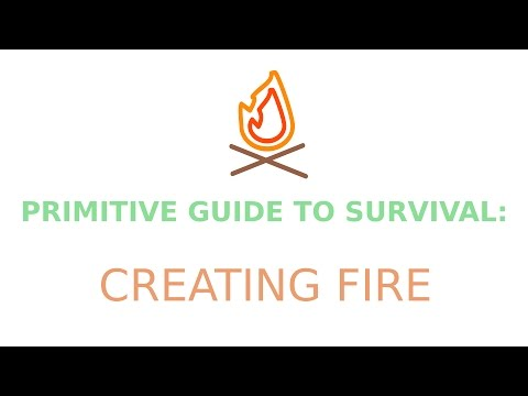 How to Make Fire (Hand-drill Friction Fire) | Primitive Guide to Survival