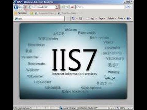 how to install iis on windows 7