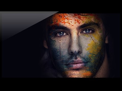 Photoshop Tutorial Photo Effects - How to create graphic effects on face