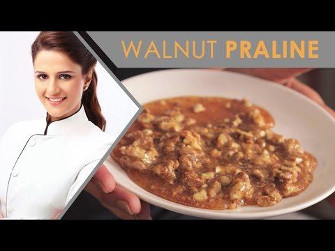 How To Make Walnut Praline| Walnut Praline New Recipe | MasterChef India Shipra Khanna
