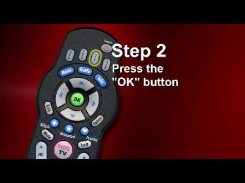 How to Program FiOS TV Remote Control w Manual - Phillips