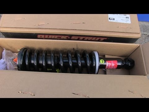 Toyota Tacoma Front Struts Replacement