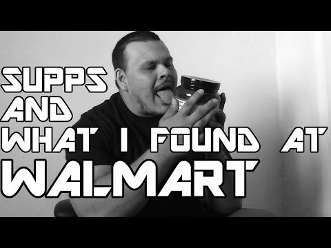 Current Supplements & What i Found At Walmart