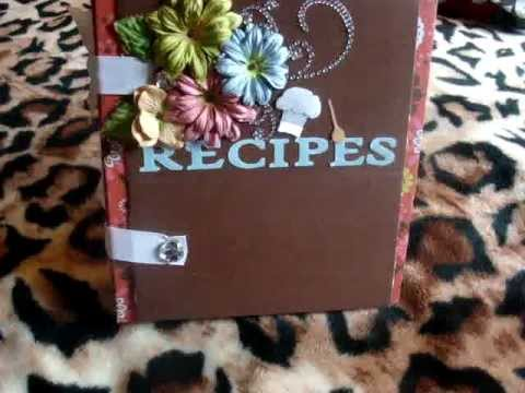Recipe Card/Organizer Book