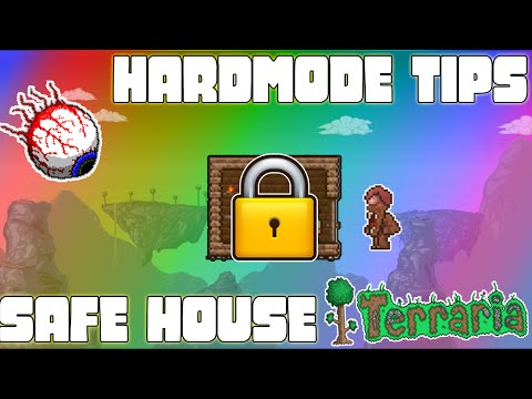 Terraria - SAFE HOUSE TIPS AND TRICKS!!