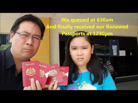 Renew Malaysia Passport at Kelana Jaya Immigration on 15 Sep 2016