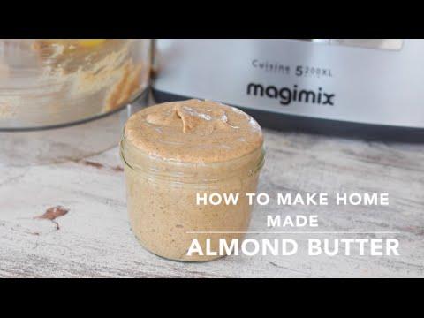 Home made Almond Butter - Heavenlynn Healthy