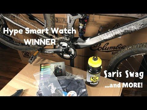 Smart Watch Winner + Saris Swag + Raleigh Swag - Subscriber Giveaway