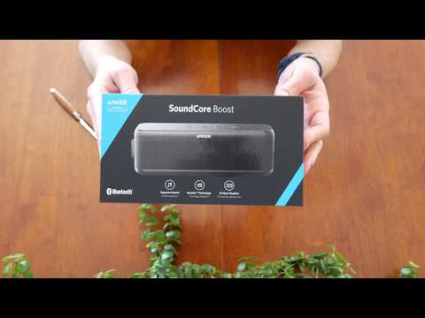 Anker SoundCore Boost Bluetooth Speaker Unboxing and Overview in 4K