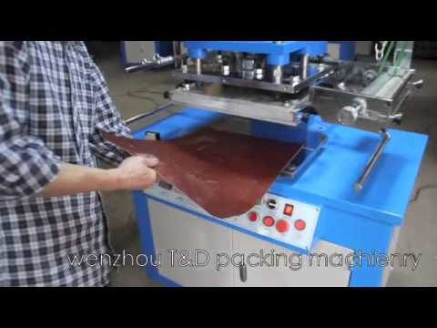 Leather hot stamping machine semi automatic hot stamping and embossing machine