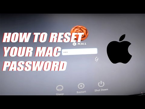 How to Reset your Mac Password and Apple OSx Keychain