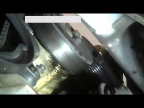 Timing belt replacement Ford Focus 2002 2.0L Vin 3 DOHC PART 1 2000-2004 Install Remove Replace