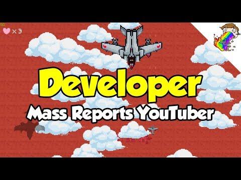 Developer Sovkey Attempts to Mass Report YouTuber Zaxtor99