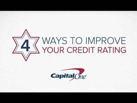 Capital One: 4 Ways to Improve Your Credit Score
