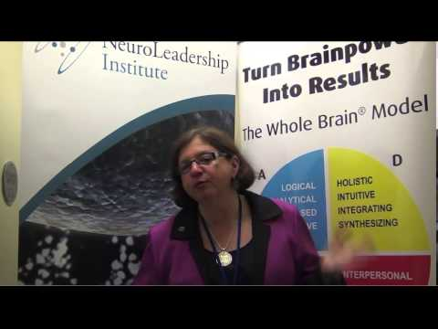 Ann Herrmann-Nehdi at the Neuroleadership Summit, 2013