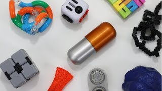 Download Fidget Capsule Review - New Best Fidget Toy for the Office 2018? Video